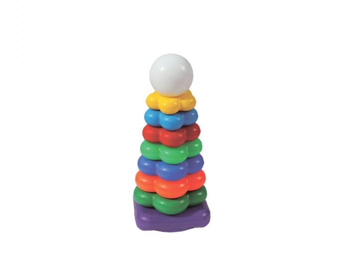 Развивающая игрушка Спектр Игра Пирамида ЦветочекИгра Пирамида ЦветочекИгра Пирамида Цветочек Спектр  Пирамида с крупными красочными элементами служит отличной игрушкой, не только привлекающей внимание ребенка, но и развивающей некоторые навыки и умения. Кажущаяся простота поможет освоить принципы соотношения размеров, пространственное мышление, координацию движений, цветовосприятия.   Естественно, только в начальной стадии, но и это - хорошее начало гармоничного развития. Выглядит пирамидка очень ярко и красочно, к тому же ее венчает забавная голова свинки.<br>