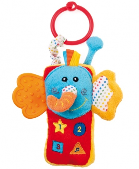 Подвесная игрушка Canpol Слоненок-телефон 68/029