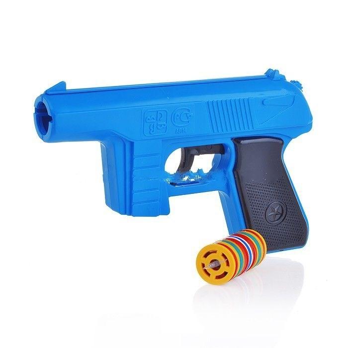 Форма Пистолет игрушечный с дисковыми пулями