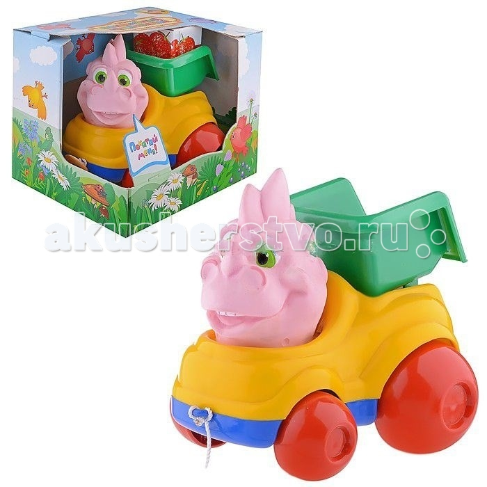Каталка-игрушка Форма Волшебный грузовичок