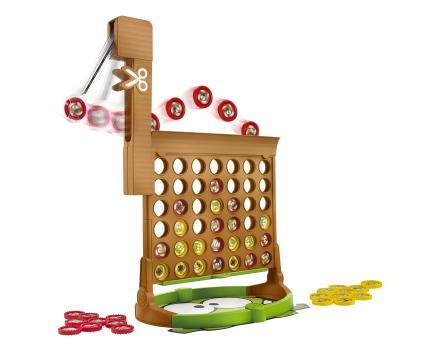 Игры для школьников Hasbro Настольная игра Собери 4 - Разрежь Веревку A2083H