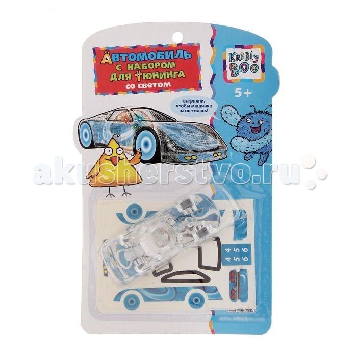 Kribly Boo Автомобиль с набором для тюнинга со светом
