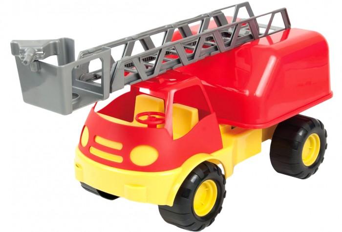 ZebraToys Пожарная машинаПожарная машинаАвтомобиль ZebraToys Пожарная машина привлечет внимание мальчика и поможет придумать множество увлекательных игровых сценок.   Машинка изготовлена из пластика и оснащена подвижными колесами, благодаря которым игрушку можно катать по ровной дорожке. Машина также дополнена выдвижной вышкой, по который игрушечные пожарные смогут забираться на необходимый этаж.   Такая игрушка в виде пожарной машинки поможет ребенку разыграть множество игровых сюжетов и спасти от пожара плюшевых друзей.<br>