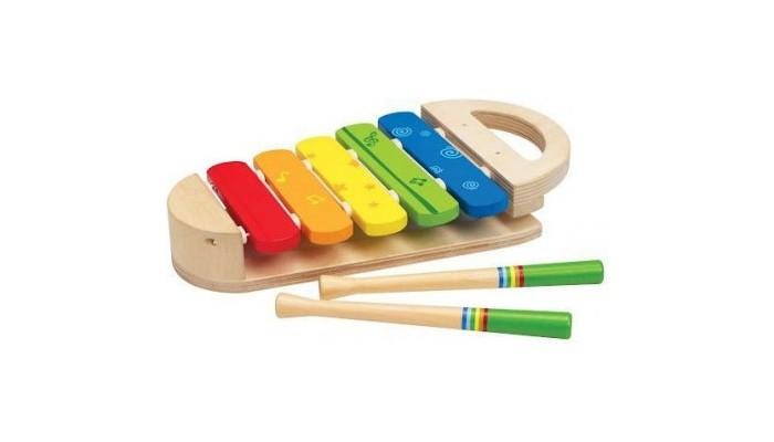Музыкальная игрушка Hape Ксилофон Радуга Е0302