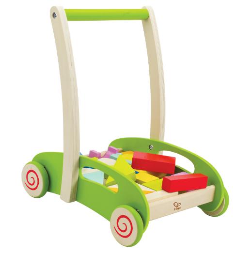 Каталка-игрушка Hape Каталка-конструктор 3 в 1 Е0371