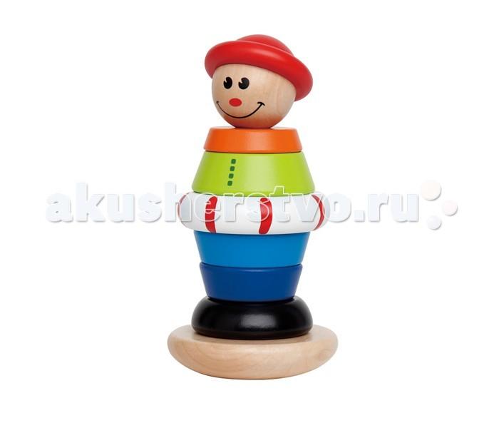 Перейти. Игрушка Hape Развивающая пирамидка, деревянная, детск