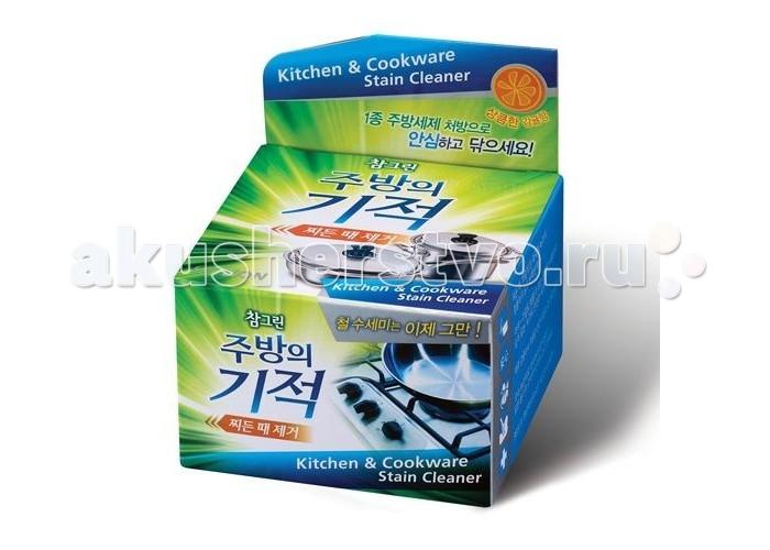 CJ Lion Чудо-средство Chamgreen чистящая паста для посуды и кухонных поверхностей 285 г