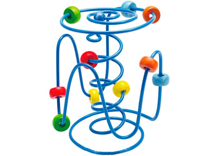 Деревянная игрушка Hape Развивающая игрушка-лабиринт Е1800