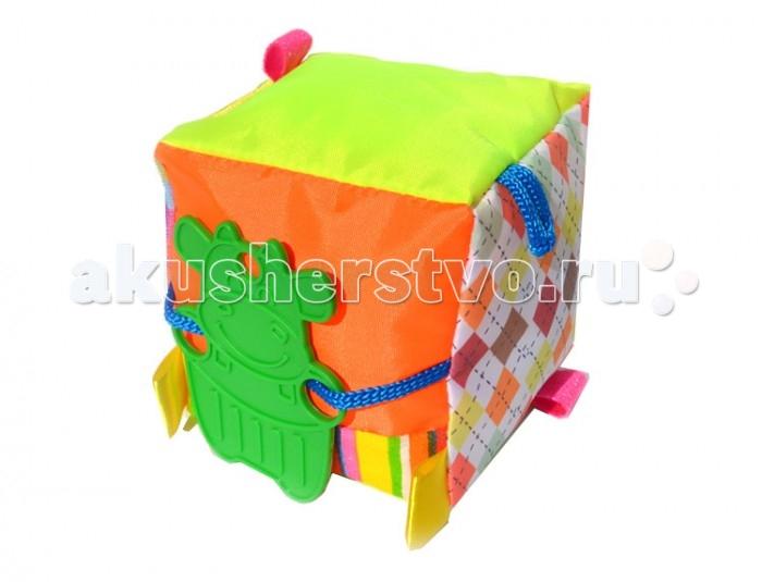 Развивающая игрушка Дельфин Кубик мягкийКубик мягкийКубик мягкий, яркий и красочный, выполнен из разнообразных мягких материалов. Игрушка надолго увлечет малыша, развивая мелкую моторику и образное мышление.<br>