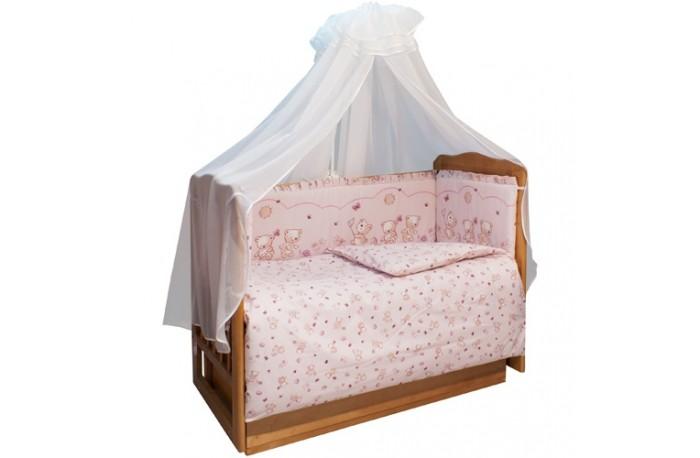 Комплект в кроватку Soni Kids Солнечные мишки (7 предметов)
