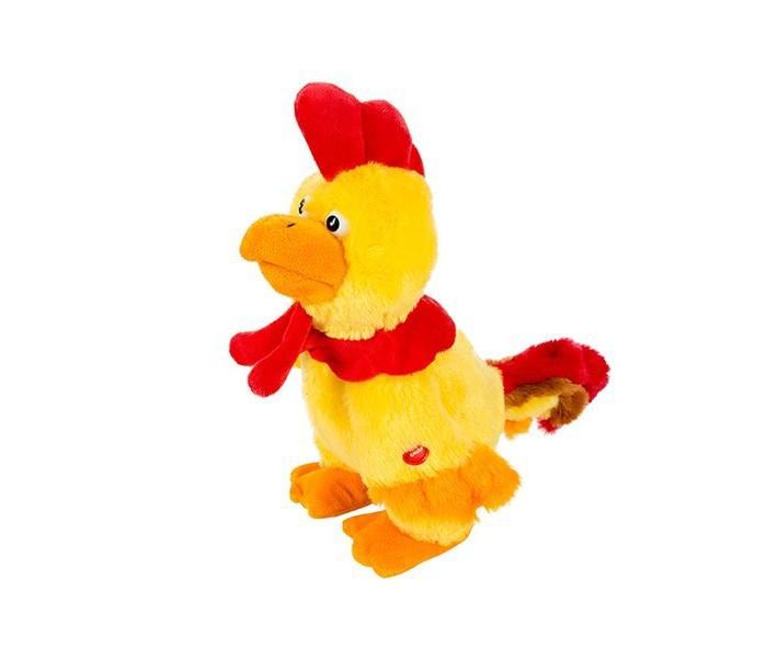 Мягкая игрушка Ваш подарок Поющая игрушка Петушок КукарекаПоющая игрушка Петушок КукарекаПоющая игрушка Петушок Кукарека Ваш подарок  Этот статный и яркий петух любит покрасоваться на публику и он действительно знает, как произвести впечатление!   «Петушок Кукарека» задорно кудахчет и кукарекает под модную танцевальную мелодию. При этом он синхронно открывает клюв, ритмично поворачивается вокруг своей оси и забавно шевелит своим роскошным хвостом.   «Кукарека» гарантированно станет звездой любой вечеринки!<br>