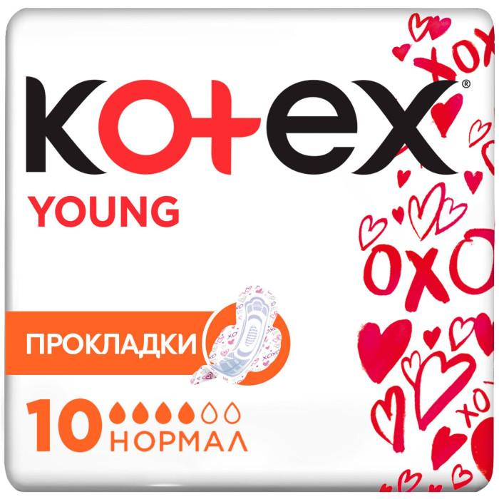 Kotex Гигиенические прокладки Young Normal 10 шт.