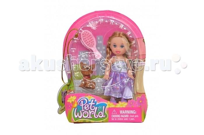 Defa Кукла Малышка с собачкой