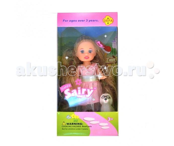 Defa Кукла в коробкеКукла в коробкеКукла 8121 Defa  Малышка Defa обожает возиться с разными зверушками: в этом наборе ее питомец - собачка. Кукла готова пойти с ней гулять, она нарядно оделась и без сомнения затмит всех кукол в округе!   У малышки Defa длинные прошитые волосы, которые удобно расчесывать и укладывать в различные прически. В руке она держит сумочку.<br>