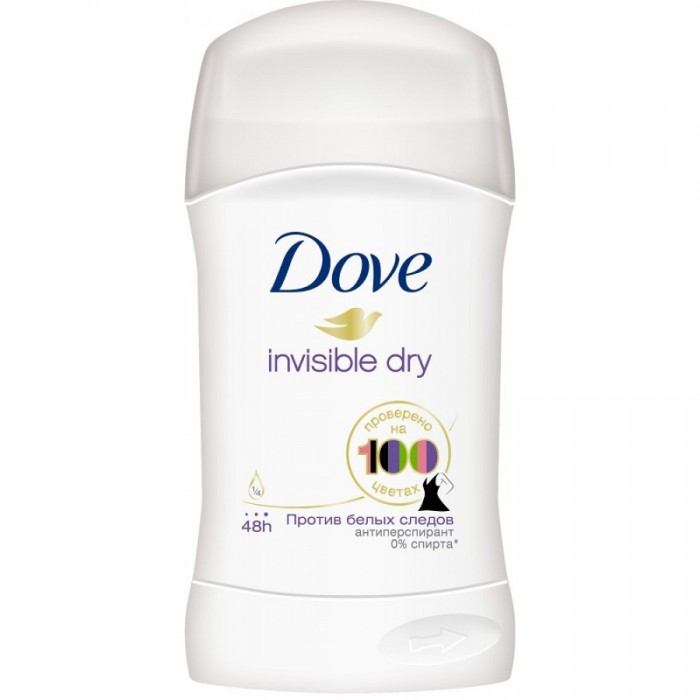 Dove Антиперспирант для женщин Невидимый стик 40 мл