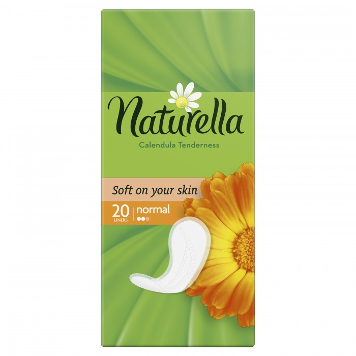 Naturella Женские гигиенические прокладки на каждый день Calendula Tenderness Normal с ароматом календулы Single 20 шт.