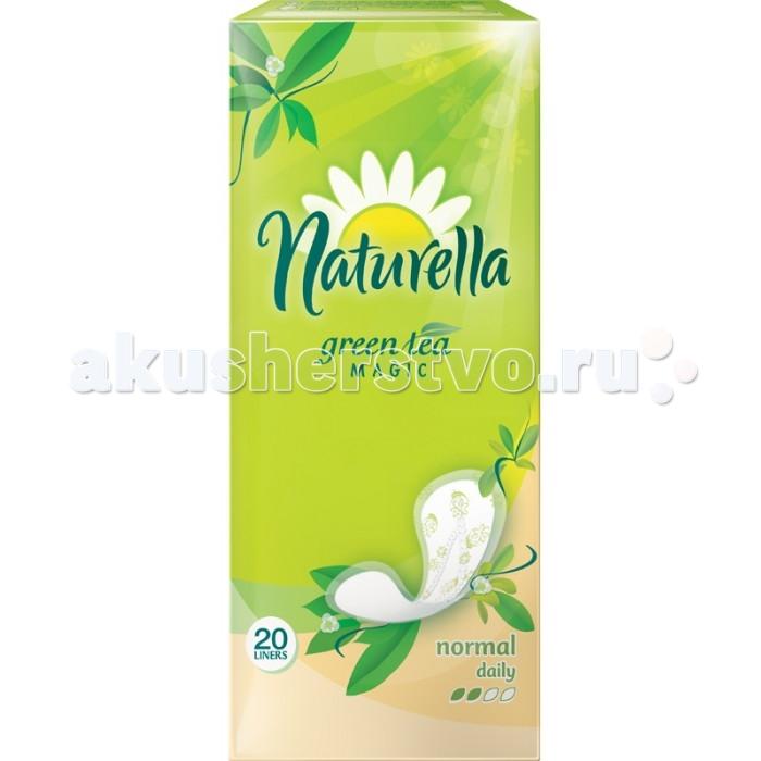 Naturella Женские гигиенические прокладки на каждый день Green Tea Magic Normal с ароматом зеленого чая Single 20 шт.