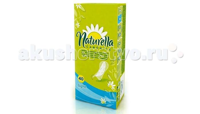 Naturella Женские гигиенические прокладки на каждый день Camomile Light Duo 40 шт.
