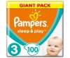 Pampers Подгузники Sleep & Play Midi (4-9 кг) 100 шт.