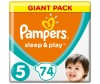 Pampers Подгузники Sleep & Play Junior (11-18 кг) 74 шт.