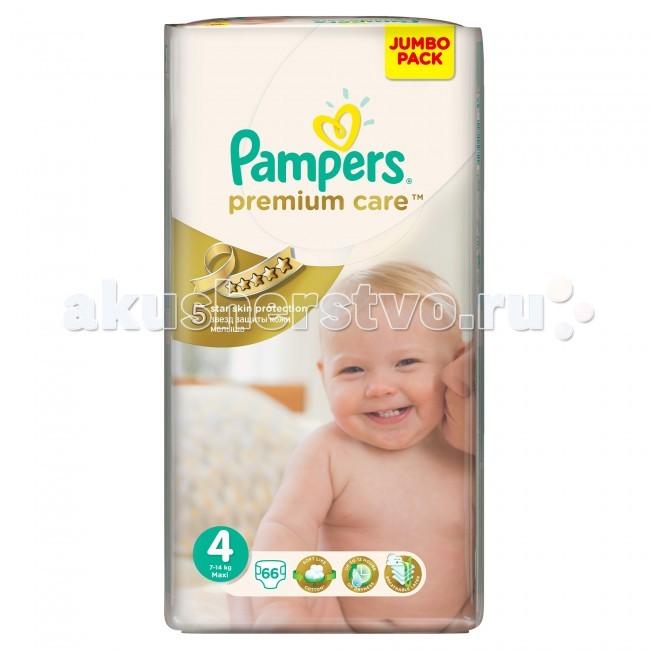 Pampers ���������� Premium Care Maxi �.4 (7-14 ��) 66 ��.