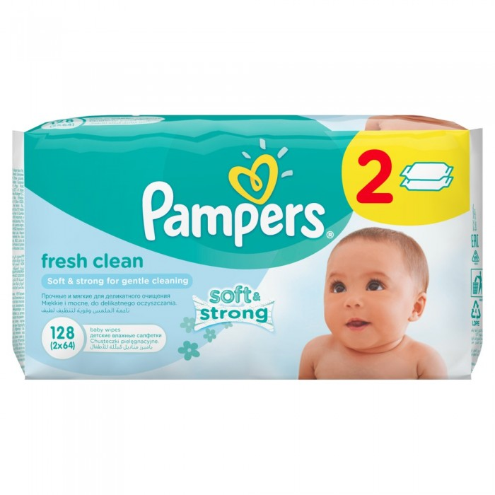 Pampers �������� Baby Fresh Duo �������� ���� 2�64 ��.