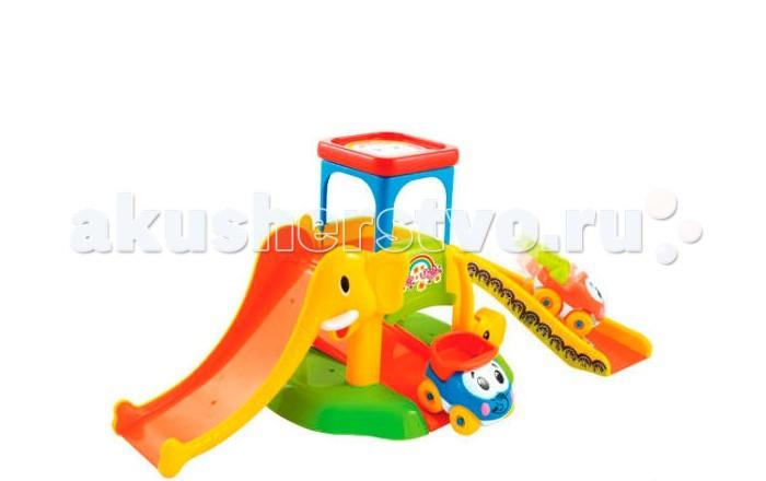 Fun For Kids Моя первая парковкаМоя первая парковкаFun For Kids Моя первая парковка с веселыми глазастыми машинками будет отличным подарком для юного автомобилиста. С такой яркой и безопасной игрушкой (нет острых углов, крупные детали, экологически чистые материалы) можно играть даже самым маленьким детям.  Внизу парковки расположена платформа со шлагбаумом, который поднимается и опускается. Машинки, пропущенные шлагбаумом, можно поднять выше, чтобы они могли быстро съехать с горок. А на самой крыше парковки есть место для машинки, которая решила немного отдохнуть.  В коробке с набором вы найдете две яркие машинки.<br>