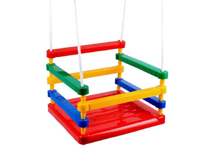Качели Кассон 3-5153-515Пластиковые качели для детей от 3-х лет.  Размер (ДхШхВ): 33х32,5х28<br>