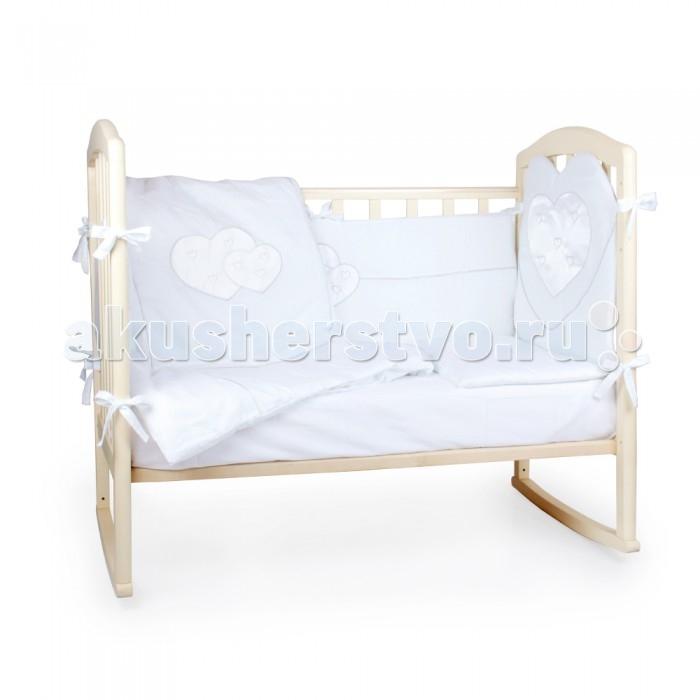 Комплект в кроватку Alis Сердце (6 предметов)