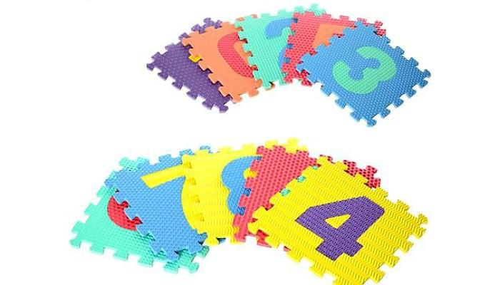 Игруша Пазл развивающий 10 деталейПазл развивающий 10 деталейИгруша Пазл развивающий - это пазл для детей дошкольного возраста. Благодаря набору Ваш малыш в игровой форме познакомится с цифрами. Пазл будет невероятно интересным для Вашего ребенка и очень удобными для маленьких детских ручек.  Развивает зрительно-двигательную координацию, последовательность действий, логическое мышление, усидчивость, память, улучшает наблюдательность и способность концентрировать внимание. Красочные пазлы стимулируют цветовое и визуальное восприятие.<br>