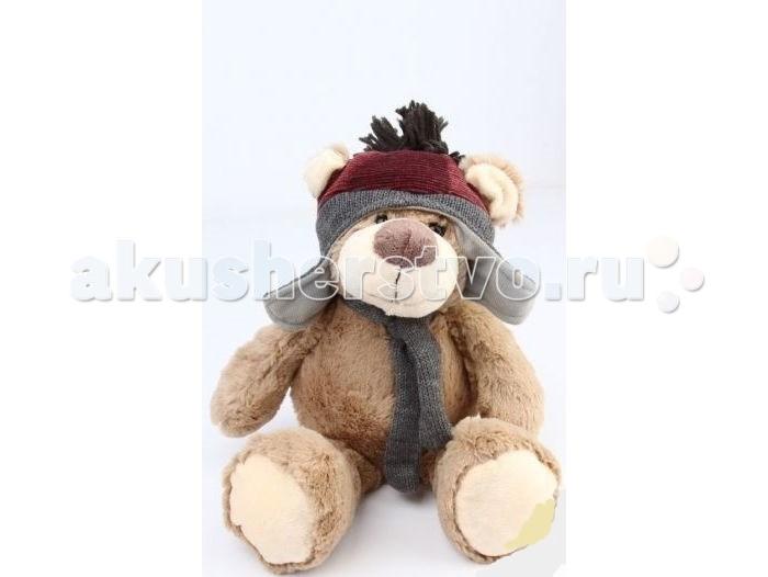Мягкая игрушка Leader Kids Медведь в шапке 25 см LK11164-5cМедведь в шапке 25 см LK11164-5cМягкая игрушка от компании Leader Kids сможет стать первым другом для ребенка. Мягкий материал приятен на ощупь, а небольшие габариты хорошо подойдут для маленьких ручек.   Массу позитивных эмоций вашему ребенку непременно подарит эта очаровательная мягкая игрушка. С ней ребенок сможет не только весело проводить целый день, но и сладко спать ночью.   Детям нравятся образы животных, поэтому уже подросший ребенок с удовольствием продолжит с ним играть.<br>