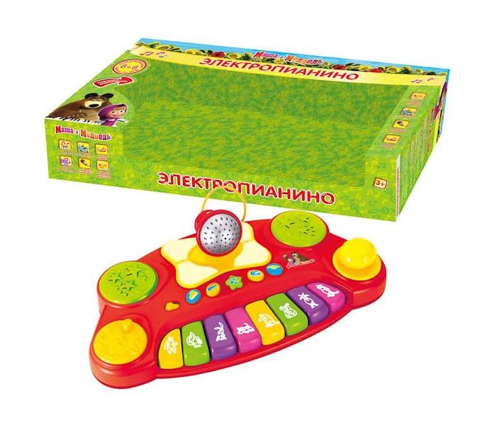 Музыкальная игрушка Умка Электропианино Маша и медведь