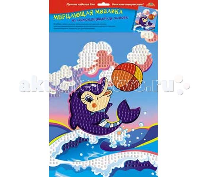 Апплика Самоклеящаяся мерцающая мозаика из мягкого пластика Дельфин с мячомСамоклеящаяся мерцающая мозаика из мягкого пластика Дельфин с мячомАпплика Самоклеящаяся мерцающая мозаика из мягкого пластика Дельфин с мячом  Мерцающая мозаика на самоклеящейся основе из мягкого пластика ЭВА, со стразами В наборе находятся: пронумерованная цветная основа, цветная самоклеящаяся мозаика из декоративного мягкого пластика, самоклеящиеся элементы для декорирования Порадуйте вашего ребенка новым набором из мягкого пластика ЭВА.  Он очень прост в использовании и абсолютно безопасен.  С помощью самоклеящейся мозаики можно сделать замечательную объемную аппликацию.<br>