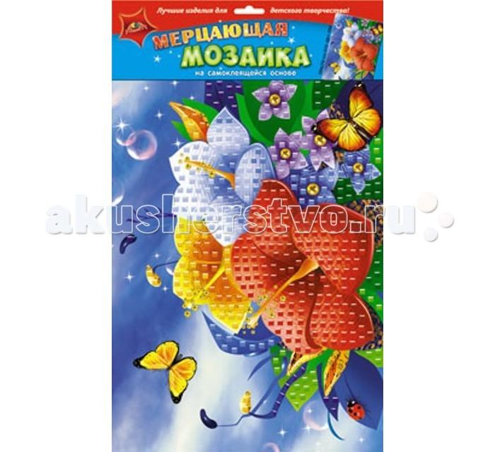 Апплика Самоклеящаяся мерцающая мозаика из мягкого пластика ЦветыСамоклеящаяся мерцающая мозаика из мягкого пластика ЦветыАпплика Самоклеящаяся мерцающая мозаика из мягкого пластика Цветы  Мерцающая мозаика на самоклеящейся основе из мягкого пластика ЭВА, со стразами В наборе находятся: пронумерованная цветная основа, цветная самоклеящаяся мозаика из декоративного мягкого пластика, самоклеящиеся элементы для декорирования Порадуйте вашего ребенка новым набором из мягкого пластика ЭВА.  Он очень прост в использовании и абсолютно безопасен.  С помощью самоклеящейся мозаики можно сделать замечательную объемную аппликацию.<br>