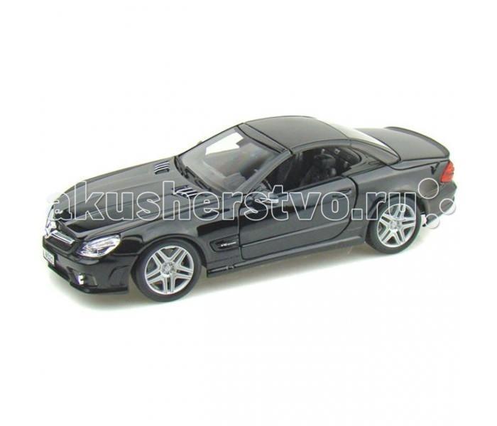 Maisto Mercedes-Benz SL65 1:18Mercedes-Benz SL65 1:18Коллекционная модель автомобиля Mercedes-Benz SL65 в масштабе 1:18 привлекает и восхищает как внешним превосходством, так и тщательной проработкой конструкции.  Машина имеет отличные прорезиненные колеса, усиленный бампер и крепкий корпус. Корпус выполнен из металла с антикоррозийным покрытием и окрашен в оригинальный цвет. Игрушечная модель имеет открывающиеся передние двери, капот и полностью детализированный салон.  Игра с такой машинкой, уменьшенной от реального прототипа в 18 раз, стимулирует воображение, развивает внимание, крупную и мелкую моторику.  Игрушка выполнена из прочного и высококачественного материала, стойкого к изнашиванию.<br>