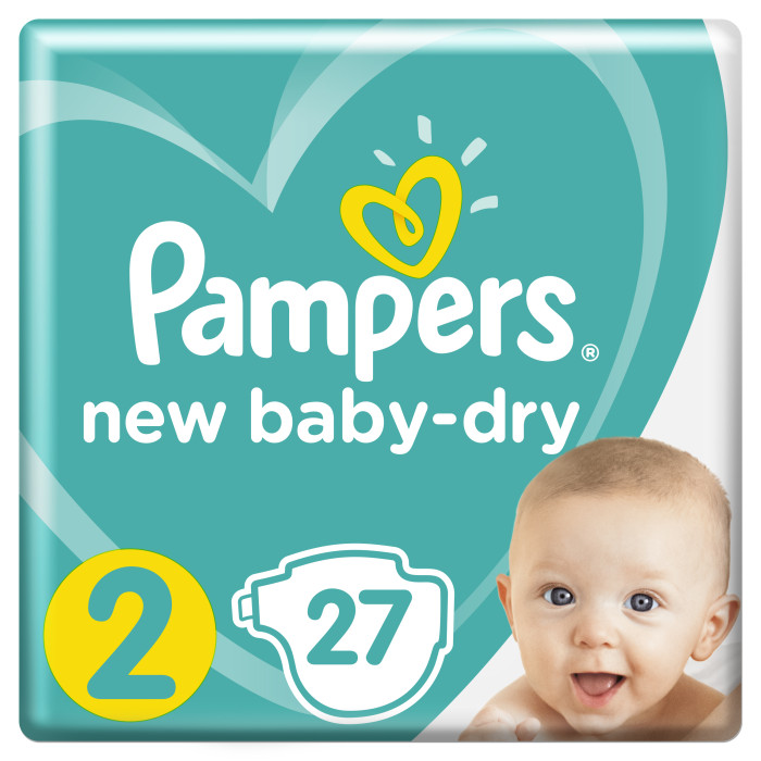 Pampers ���������� New Baby Dry Mini �.2 (3-6 ��) 27 ��.