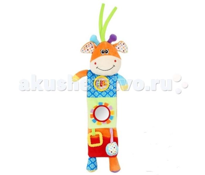 Подвесная игрушка Leader Kids развивающая Бегемотразвивающая БегемотИгрушка-подвеска Leader Kids - порадует кроху яркими цветами и милой мордочкой, а также он очень мягкий и приятный на ощупь!  Развивает воображение, цветовое восприятие, мелкую моторику, тактильные ощущения.  Изготовлена игрушка из высококачественных и безопасных материалов, поэтому подойдет для игры самых маленьких.<br>