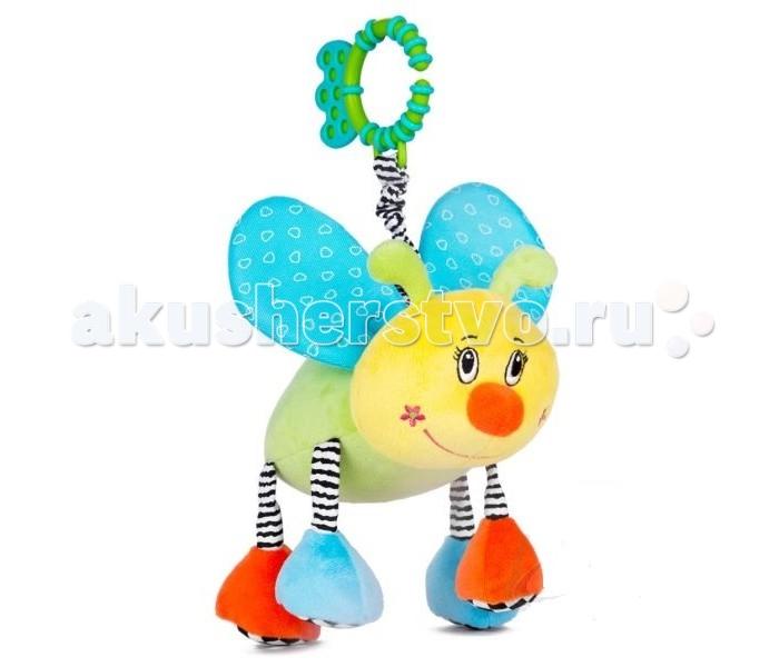 Подвесная игрушка Leader Kids Пчёлка 20 смПчёлка 20 смИгрушка-подвеска Leader Kids - порадует кроху яркими цветами и милой мордочкой, а также он очень мягкий и приятный на ощупь!  Развивает воображение, цветовое восприятие, мелкую моторику, тактильные ощущения.  Изготовлена игрушка из высококачественных и безопасных материалов, поэтому подойдет для игры самых маленьких.<br>