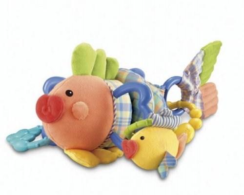 Погремушки Fisher Price Mattel на детскую коляску Золотая рыбка