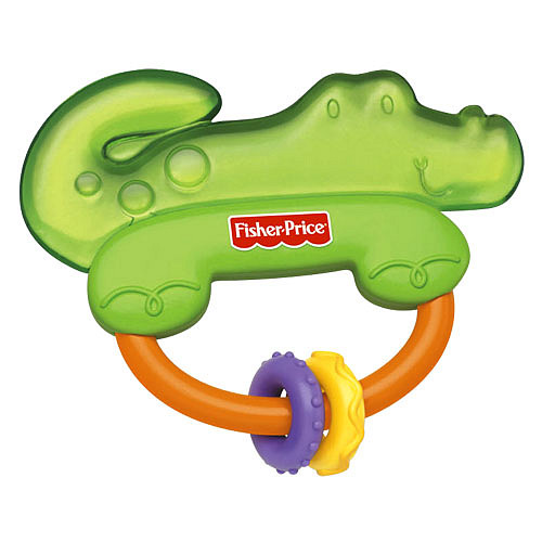 Купить Прорезыватели Mattel в виде крокодила  Прорезыватели Fisher Price