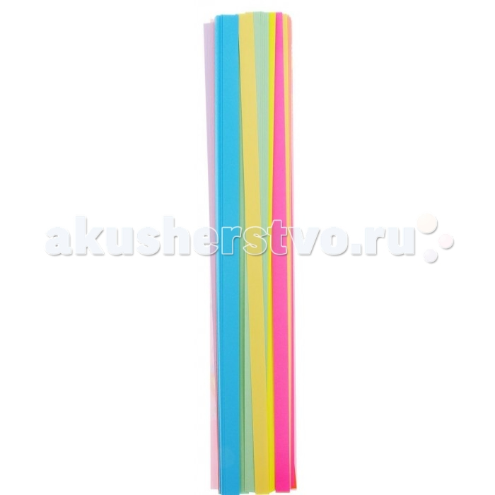 Апплика Бумага для квиллинга 8 цветов 320 полос 9 мм