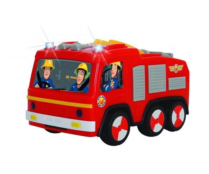 Simba Пожарный Сэм пожарная машина Юпитер 14 смПожарный Сэм пожарная машина Юпитер 14 смSimba Пожарный Сэм пожарная машина Юпитер 14 см - это прекрасная игрушка, которая очень похожа на пожарный автомобиль из известного мультфильма про пожарного.   Игрушка имеет колёса со свободным ходом, имеет привлекательный дизайн с изображением пожарных и оснащена стрелой с платформой. Кроме этого у неё реалистично мигают проблесковые маячки, когда она торопиться на помощь.  Особенности: Замечательная игрушка – пожарная машина Юпитер, выполненная по мотивам популярного мультфильма «Пожарный Сэм» расширит возможности сюжетных игр. Реалистичная игрушка исполнена с подробной детализацией и выглядит в точности как её экранный прототип. Корпус игрушки имеет яркий красный цвет и украшен красочными наклейками с изображением героев мультфильма – пожарных. Стрела с платформой раскладывается и поднимается, на платформе расположен пожарный гидрант. Световые эффекты игрушки сделают игру с ней более интересной и разнообразной, при их активизации загораются проблесковые маячки. С игрушкой дети смогут придумать различные сюжеты для игр, развивая воображение, фантазию и тренируя моторику рук. Исполнено изделие из качественного  ударопрочного пластика, используемые красители яркие и нетоксичные.<br>