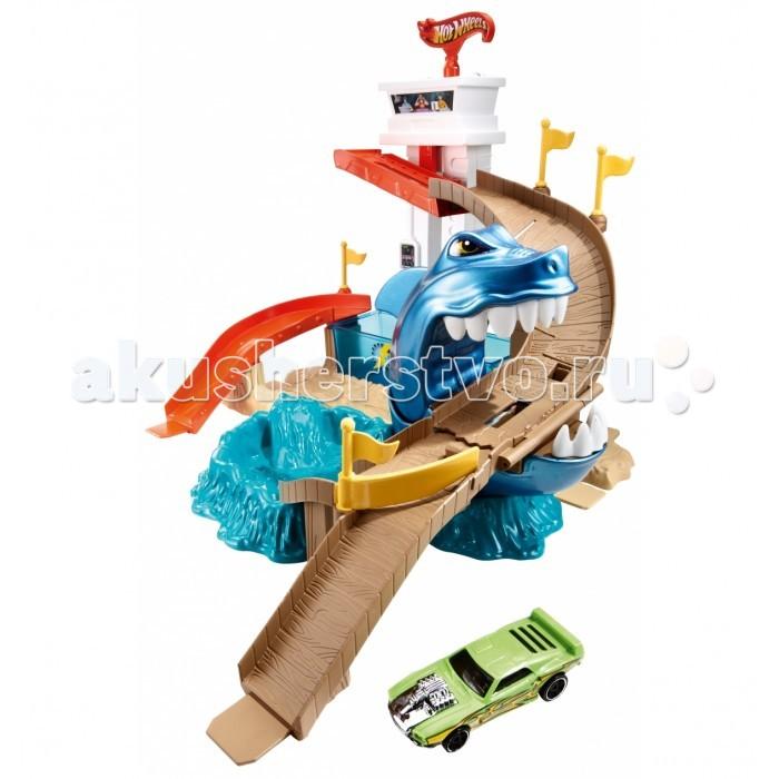 Hot Wheels Mattel Трек Атака Акулы