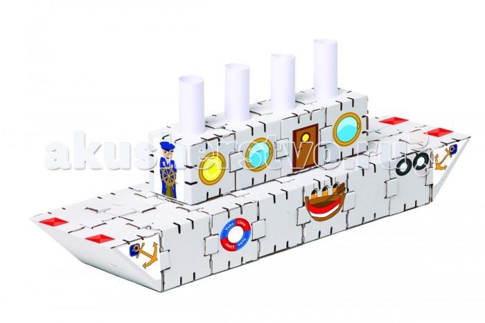 """Конструктор Yohocube Титаник 20 элементовТитаник 20 элементовYohocube Конструктор Титаник 20 элементов К-20.Titanic.White  «Титаник» из серии конструктор """"ЙОХОКУБ""""— это самосборные кубики в наборе с крепежами и тематическими декоративными элементами для конструирования любых форм.Через игру развивает абстрактное мышление, конструкторские навыки, творческие способности и мелкую моторику. Приучает к коллективному творчеству в разновозрастной группе.<br>"""