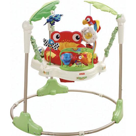 Прыгунки Fisher Price Mattel Тропический лес