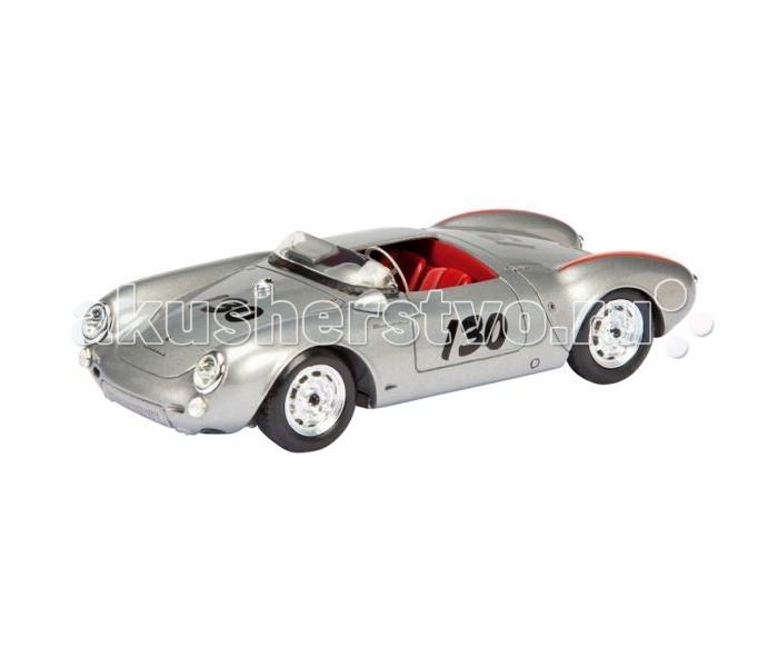 Schuco Автомобиль Porsche 550 James Dean 1:43Автомобиль Porsche 550 James Dean 1:43Schuco Автомобиль Porsche 550 James Dean 1:43 представляет собой масштабную копию настоящего автомобиля.  Особенности: Он выполнен из высококачественного пластика и металла — материалов, чье удачное сочетание позволило добиться не только предельной прочности игрушки, но и ее отличной детализации.  Машинка способна двигаться в переднем направлении. Для этого его следует отвести немного назад, а затем резко отпустить. В этом случае сработает фрикционный механизм и машинка поедет вперед.<br>