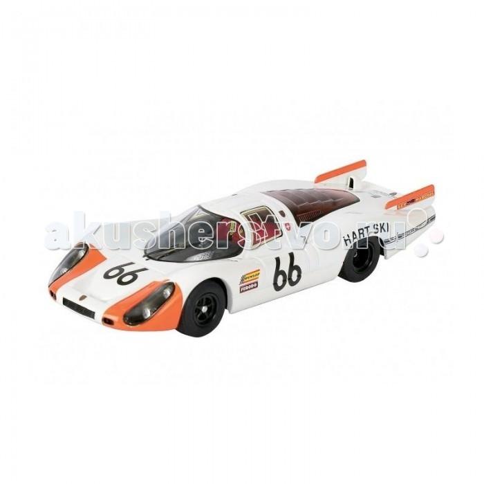 Schuco Автомобиль Porsche 907 1:43Автомобиль Porsche 907 1:43Schuco Автомобиль Porsche 907 1:43 представляет собой масштабную копию настоящего автомобиля.  Особенности: Он выполнен из высококачественного пластика и металла — материалов, чье удачное сочетание позволило добиться не только предельной прочности игрушки, но и ее отличной детализации.  Машинка способна двигаться в переднем направлении. Для этого его следует отвести немного назад, а затем резко отпустить. В этом случае сработает фрикционный механизм и машинка поедет вперед.<br>
