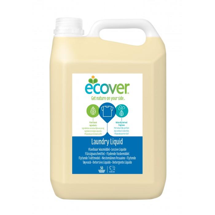 Ecover Экологическая жидкость для стирки 5 л 5157Экологическая жидкость для стирки 5 л 5157Ecover Экологическая жидкость для стирки 5 л 5157  Идеальное универсальное средство для бережной стирки любого белого и цветного белья.  Особенно хорошо подходит для людей с чувствительной кожей, младенцев и детей, так как полностью выполаскивается не оставляя активных веществ на ткани.  Обладает легким натуральным цитрусовым ароматом. Колпачок можно использовать в качестве мерной емкости. Не содержит фосфатов, отбеливателей, энзимов, синтетических ароматизаторов.  Уровень pH: 8.5. Подходит для использования в домах с автономной канализацией.  Не наносит вреда любым видам септиков!  Способ применения: Машинная стирка: Используйте 1,5 колпачка жидкости (~45 мл) на одну загрузку машины.   Ручная стирка: Добавьте 2/3 колпачка (~20 мл) жидкости на 5 литров теплой воды. Стирайте и полоскайте как обычно. Воду, оставшуюся после применения экологической жидкости для стирки изделий из шерсти и шелка, можно использовать для поливки сада и комнатных растений.<br>