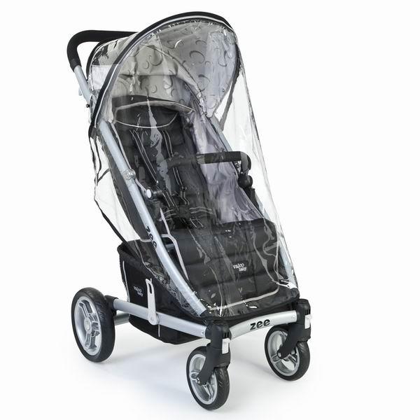 Дождевик Valco baby для коляски Zeeдля коляски ZeeСозданный специально для коляски Zee, этот аксессуар обеспечивает защиту от дождя и ветра.  Дождевик, выполненный из материала, безопасного для детей, защищает даже от самого сильного ливня, при этом обеспечивая вентиляцию.<br>