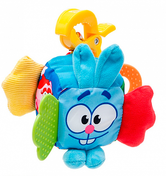 Подвесная игрушка Умка Кубик прорезыватель растяжка Смешарики